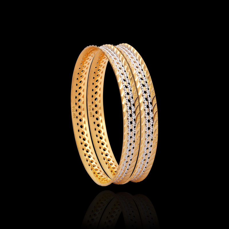 Gold Bangles & Designer Jewellery for Women Zar Jewels